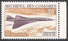 Des comores islands 1969 concorde/aviation/avions/aéronefs/transport 1v (n30491)