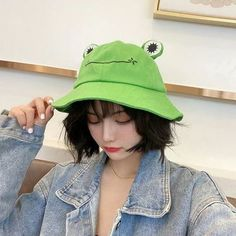 Home · CandyFrizz Stars · Online Store Powered by Storenvy Cute Fashion, Fashion Outfits, Cute Frogs, Cute Hats, Kawaii Clothes, Summer Hats, Look Cool, Aesthetic Clothes, Pretty People