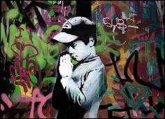 Banksy. Street Art.