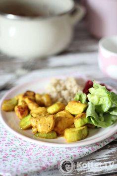 Przepyszny i taki prosty kurczak z cukinią Potato Salad, Food Porn, Potatoes, Cooking, Ethnic Recipes, Kitchen, Potato, Brewing, Cuisine