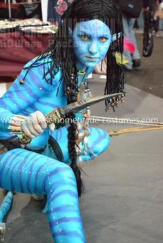 awesome homemade avatar costume