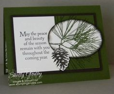 SU Ornamental Pine Card -video