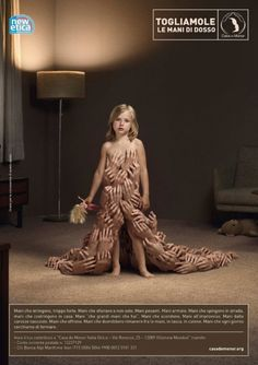 """Child sexual abuse --- some scars you can't see.   But the memory of hands all over you """"that she'll never forget""""."""