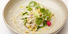 Simon Rogan shares the recipe for this beautifully fresh salad, comprised of a selection of stunning British produce