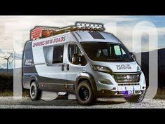 YouTube Motorhome Conversions, Camper Van Conversion Diy, Class B Motorhomes, Camping Pod, Stealth Camping, Build A Camper, Tent Fabric, Fiat Ducato, Van Design