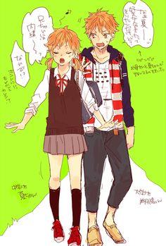 When Natsu grows older *Hinata nevers grows again* XD