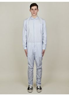 Richard Nicoll – Men's Striped Cotton Jumpsuit