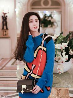 Actress Fan Bingbing  http://www.chinaentertainmentnews.com/2017/01/fan-bingbing-poses-for-photo-shoot.html