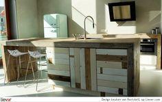 RestyleXL Design keuken - RestyleXL keukenkasten & maatwerk - foto's & verkoopadressen op Liever interieur