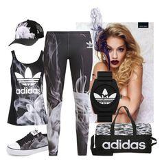 """#024 Rita Ora Adidas"" by charlotteepearce on Polyvore"