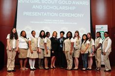 Gold Award Ceremony Girl Scout Gold Award, Eagle Scout Ceremony, We Run The World, Girl Scouts, Fun Ideas, Beyonce, Awards, Presentation, Party