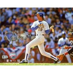 """Autographed Milwaukee Brewers Robin Yount Fanatics Authentic 8"""" x 10"""" Hitting Photograph with HOF 99 Inscription, $149.99"""