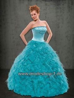 Bustier Sissi Abendkleid Ballkleid Brautkleid