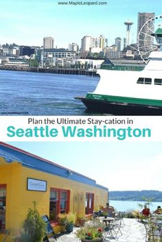 If you can't afford a full blown vacation, a stay-cation is the way to go! If you live in the Seattle area( or if you are visiting) I am covering amazing  things you can do without breaking the bank, and still feel like you are on vacation all day long!