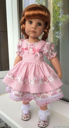Новенькая девочка Gotz / Куклы Gotz - коллекционные и игровые Готц / Бэйбики. Куклы фото. Одежда для кукол