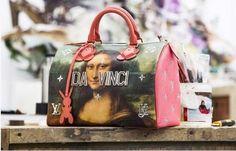 Louis Vuitton reveals Jeff Koons collaboration : Mona Lisa on your bag?