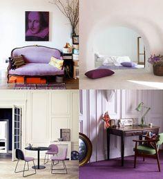 Geef je interieur een frisse uitstraling met de trendkleur voor 2014 radiant orchid. #kleur #inspiratie