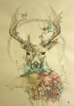 I half love this - great delicate design, and I like the mixture of animals...but it looks half finished to me.
