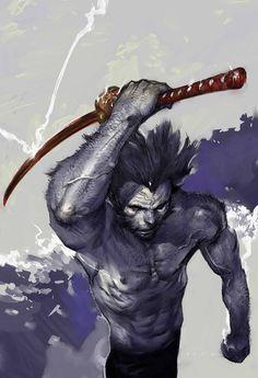 WOLVERINE: SOULTAKER #5 Cover by KATSUYA TERADA