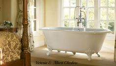 The Victorian footed Cheshire bath is one of our classics. Victoria + Albert create beautiful freestanding baths in QUARRYCAST, a unique material. Unusual Bathrooms, Beautiful Bathrooms, Family Bathroom, Master Bathroom, Victoria And Albert Baths, Claw Foot Bath, Foot Baths, Double Ended Bath, Bath Uk