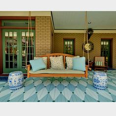 Wonderful Thereu0027s Painting Your Deck, And Then Thereu0027s PAINTING YOUR DECK! This Floor  Design Adds