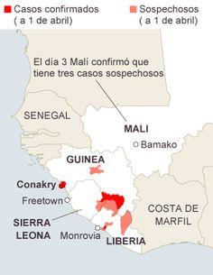 El Ébola se extiende a Malí, el cuarto país afectado / José Naranjo + @elpais_inter   #westernafrica