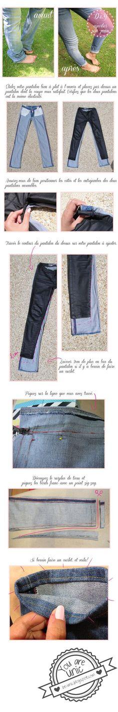 L'Achat du mois  avec un grand A :   un jean Temps des Cerises, À 10€  !   Même si la forme ne convient pas tout à fait, c'était une occas'...