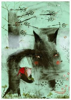 Little Red Riding Hood and Other Wolfish Things.  Natalie Putalov