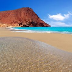 for my next transatlantic - Playa de la Tejita turquesa, Tenerife Holiday Destinations, Travel Destinations, Places To Travel, Places To See, Spain Holidays, Reisen In Europa, Canary Islands, Beautiful Beaches, Costa