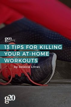 I know, I know--getting up and working out is hard for me too! I've become a pro at working out at home. Here are my best tips to motivate yourself into shape!