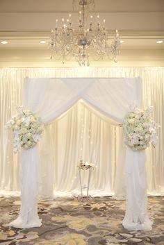 Atlanta Ritz Carlton Ballroom Wedding