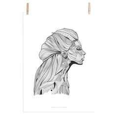 Poster Invisible -a mile in the woods - Hviit. Poster Online, Shops, Blue Pictures, Landscape Drawings, Nordic Design, Moose Art, Lion Sculpture, Statue, Wall Art