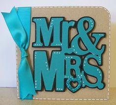 Cricut Wedding Cards Ideas