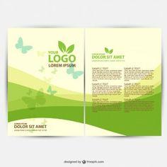 Modelo de ecologia brochura