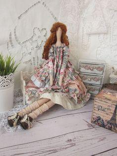 Куколка текстильная интерьерная в стиле Тильда. По мотивам - купить или заказать в интернет-магазине на Ярмарке Мастеров - EA0DVRU. Омск | Стиль одежды куколки - Бохо. В создании образа…