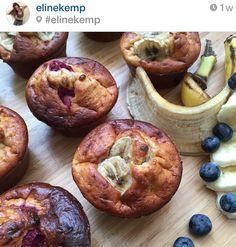 Koken met Eline? Ja! Met Eline Kemp. Die maakte namelijk amazing muffins.
