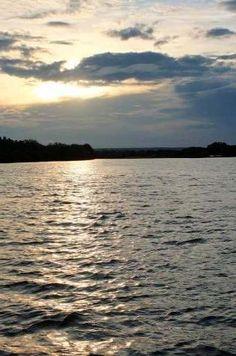 Coucher de soleil sur le Zambèse