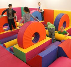 Soft Play Area for children at Sands Resort Hotel in Cornwall