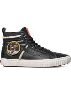 low priced 3b6c2 57791 VANS VANS BLACK AND WHITE NASA SK8 HI 46 MTE DX SPACE VOYAGER SNEAKERS -  101 - BLACK. vans shoes