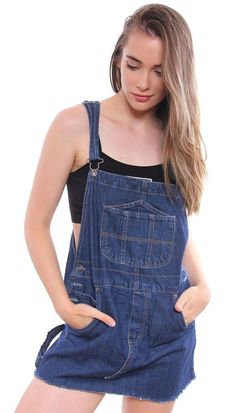 485b39b0ca6 Dungaree Dress, Dungarees, Overalls, Overall Shorts, Tommy Hilfiger, Mini  Skirts,