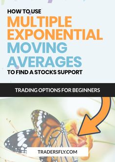 Do you want to know how to use multiple exponential moving averages to find stocks support? Check this out! Fundamental Analysis, Technical Analysis, Stock Charts, Moving Average, Knowledge And Wisdom, Educational Videos, Free Training, Trading Strategies, Make More Money
