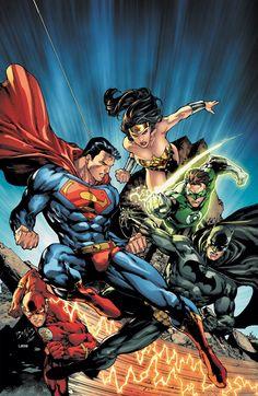 DC Universe Legends - Superman, Green Lantern, The Flash, Wonder Woman, Batman