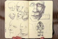 Sketchbook Secrets: 50 Beautiful Sketchbook Scans- Trevor Henry