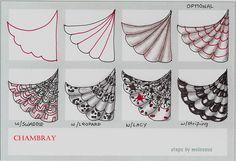 zendoodle patterns | ... -Tangle Pattern -- zentangle zendoodle art tangle chambray pattern