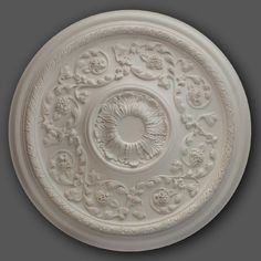 We have a large number of ceiling rose designs available to accommodate a number of different styles. View our selection of ceiling roses today. Ceiling Rose, Rose Design, Baroque, Decorative Plates, Tableware, Panelling, Ceilings, Roses, Lounge