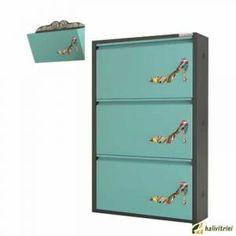 Metal Ayakkabılık Pappuchbox 3Lü TK DE5019 Filing Cabinet, Storage, Furniture, Home Decor, Purse Storage, Decoration Home, Room Decor, Larger, Home Furnishings