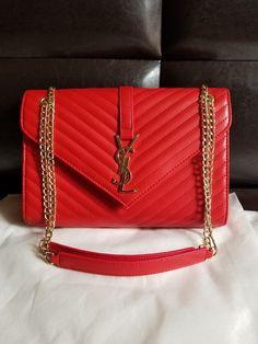 f177bc70c5 Details about YSL Yves Saint Laurent Black Muse Bag Purse Handbag Bag  Shoulder Leather Brass