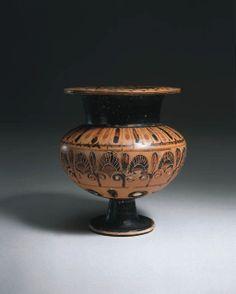 A GREEK BLACK-FIGURE LYDION -  CIRCA 6TH CENTURY B.C.