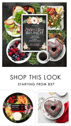 """""""Mother's Day Brunch"""" by lenochca ❤ liked on Polyvore featuring interior, interiors, interior design, home, home decor, interior decorating, Nordic Ware and MothersDayBrunch"""