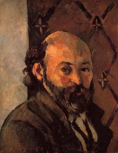 Self-Portrait - Paul Cezanne  #cezanne #paintings #art
